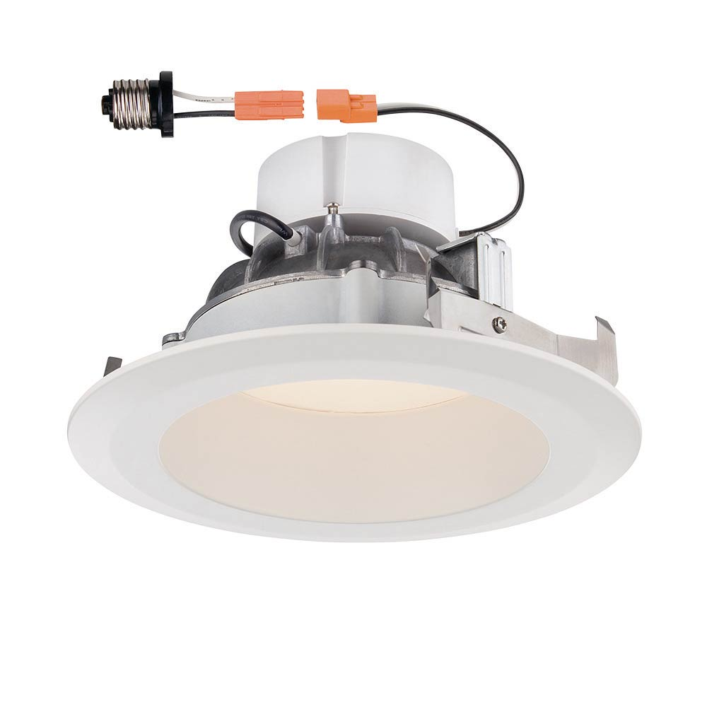 Deep Splay 6 in. 2700K White Trim LED Recessed Ceiling Light