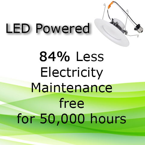 LED Powered Savings